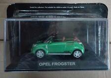 "STERBEN CAST "" OPEL FROGSTER "" CONCEPT CARS SKALA 1/43"