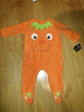 Baby Halloween PUMPKIN BODYSUIT Costumes 3-6 months Orange Fancy Dress Unisex