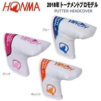Honma Golf Tour World '18 Tournament Pro Model Putter Headcover Japan PC-1805