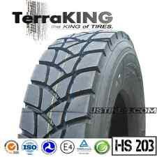 TerraKING HS203 - 315/80R22.5/20PLY DRIVE/REAR/DUMP/GARBAGE/ROLL-OFF TRUCK TIRES
