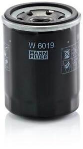 Mann-filter Oil Filter W6019 fits SUBARU OUTBACK BS,BS9 2.5 AWD (BS9)