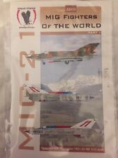 Eagle Strike 1/32 Decals MIG Fighters Of The World Part II MIG-21 32033