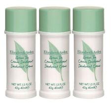 Green Tea by Elizabeth Arden Cream Deodorant 1.5 oz ( Total 4.5 oz) - Pack of 3