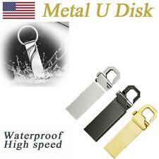 32GB/1TB/2TB USB 2.0 Flash Drive Stick Pen Drive U Disk Metal Key Thumb Laptop