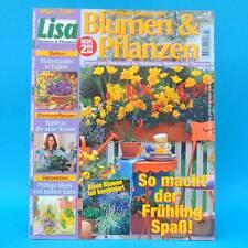 Lisa Blumen und Pflanzen 3/2001 | Balkon Zimmerpflanten Dekoration | Frühling