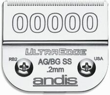 Andis Ultra Edge Size 00000 Replacement Blade (Fits: AG, AGC, AGR, BG, BGC...)