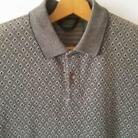 Vintage NORTHWEST TERRITORY Mens XL Shirt Polo Golf Green Knit Short Sleeve