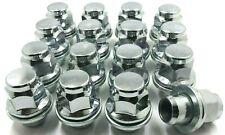 16 x ALLOY WHEEL NUTS JAGUAR S-TYPE / X-TYPE CHROME M12 X 1.5 LUG BOLTS NUTS 76