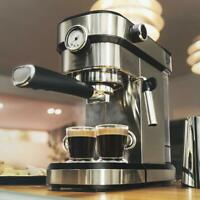 Cecotec Cafelizzia 790 Steel Pro Cafetera express, Acero Inoxidable 20 bar 1350W