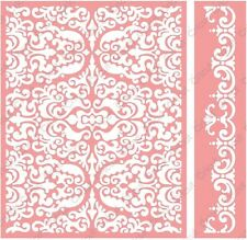 Cuttlebug A2 Embossing folder & Border - Reflected Damask - 2002107