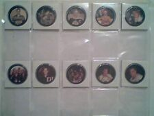 GORDIE HOWE / BOBBY ORR  '66-67 SHIRRIFF 20-REPLICA COINS AND CARDS SET