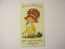 ADESIVO anni '80 / Old Sticker Vintage BONNIE BONNETS (cm 7,5 x 14)