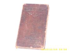 "Antique Vintage The Rubriyat Of Omar Khayyam 1912 Leather bound 6 1/2"" x 3 1/2"""