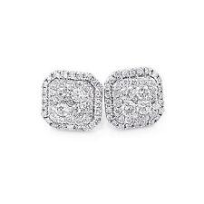 Ohrringe Diamanten 585er Weißgold 1,23 ct. Top Wesselton VS Neu Goldschmuck