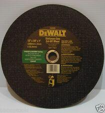 """DEWALT DW8008 12-Inch by 1/8""""x1"""" C24R Abrasive Concrete Cutting Wheel New in Box"""