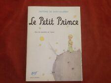 ANTOINE DE ST EXUPERY - LE PETIT PRINCE - GALLIMARD - NRF - 2000