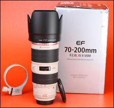 Canon EF 70-200 mm MK II Stabilisateur d'image F2.8 L IS USM Zoom Lens + ET-87 Capuche