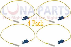 4 Pack Refrigerator Temperature Defrost Sensor DA32-10105X AP4338786 PS4138686