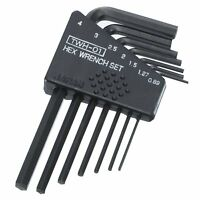 metric ALLEN KEY SET 0.89,1.27,1.5,2,2.5,3,4mm mini small sizes Engineer TWH-01
