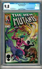 """New Mutants #16 (1984) CGC 9.8  White Pgs.  Claremont  1st """"Thunderbird II"""""""