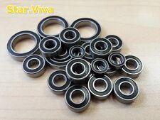 (Black)Rubber Sealed Ball Bearing Tamiya DB01/TRF501X/TRF416X/TRF417/TA05-VDF Sv