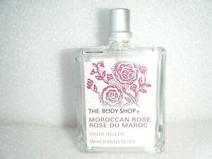 """BODY SHOP """" MOROCCAN ROSE """" 50ml EAU DE TOILETTE - RARE - NEW - RECORDED POST"""