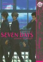 Seven Days:  Monday - Thursday (Yaoi) (Yaoi Manga) - Paperback - VERY GOOD