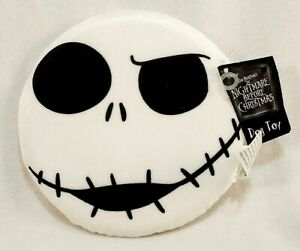 The Nightmare Before Christmas Jack Skellington Face Frisbee w/Squeaker Dog Toy