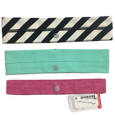 lululemon headbands Lot Of 3 NWT (All New, One With Tags)
