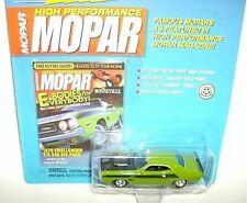 JL 1/64 mopar cover cars 1970 DODGE CHALLENGER T/A-grn
