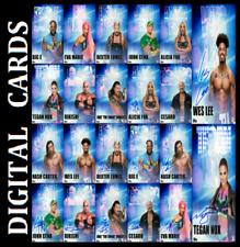Topps SLAM WWE PHOTOTYPE SEPTEMBER [ SET 22 CARDS SIGNATURE/BASE ]