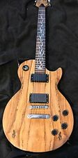 Stellah LP Style Spalted Electric Guitar W/padded Gig Bag Last One.+ Xtras