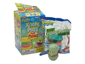 Spongebob Squarepants Weeble Wobble Mini Figure & Krabby Patty Patrick or Squid