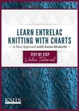 NEW!  Learn Entrelac Knitting with Charts with Annie Modesitt [DVD]