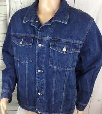 Vintage Tommy Hilfiger Jeans Denim Jacket Truckers Retro 90s Medium Wash Men  XL 7b78e93d2d
