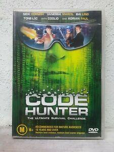 Code Hunter DVD aka: STORM WATCH - Nick Cornish Vanessa Marcil - Cyberpunk STYLE