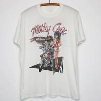 Motley Crue Vintage T-Shirt 1987 Girls Girls Girls Tour Concert 1980s AA492