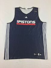 Detroit Pistons adidas Jersey Men's Navy Poly New Multiple Sizes