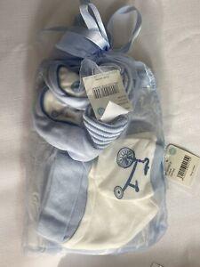 Pumpkin Patch Baby Gift Set Blue 0-3 Months