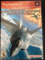 Ace Combat 4: Shattered Skies (Sony PlayStation 2) PS2 Complete Game CIB Tested