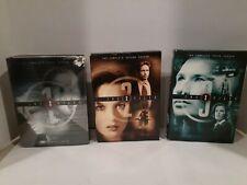 The X Files Seasons 1,2,3 Dvd Season Sets Lot Free Shipping