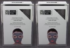 NEW 2-PACK x 5oz Global Beauty Care CHARCOAL Wash Off Mask Mud Face Treatment ++