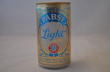 Vintage Pabst Blue Ribbon Light Pbr Aluminum 12oz Can Bottom Opened Great Shape!