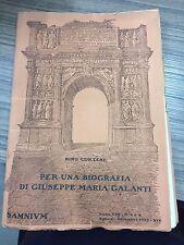 Cortese Nino. Per una biografia di Giuseppe Maria Galanti.