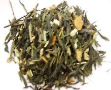 Thé vert citron gingembre biologique les 100 gr