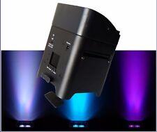 LED AKKU  PAR 6x 18 W  RGBAW + UV,  6 in 1 LED ,W-DMX + FB + App In SCHWARZ
