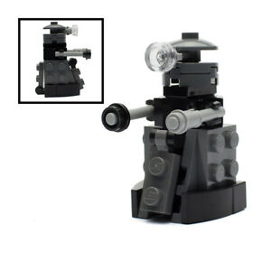 LEGO Grey Doctor Who Dalek Figure / Model (Minifigure Scale)