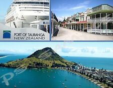 New Zealand - TAURANGA - Travel Souvenir Flexible Fridge Magnet