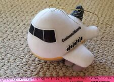 Continental Airlines Airplane Jet Plush Soft Toy Stuffed Animal