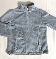 The North Face Women's Size XS X-Small Osito Full Zip Blue Fleece Jacket EUC